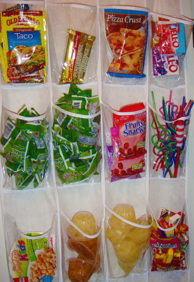 snacks 16 Easy Kitchen Organization Ideas and Tips with Pictures!
