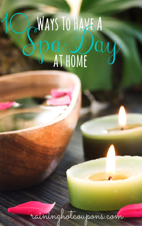 10 Simple Ways To Have A Spa Day At Home