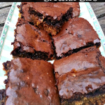 Toffee Peanut Butter Brownie Bars Recipe