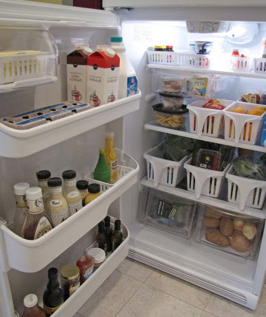 tubs 16 Easy Kitchen Organization Ideas and Tips with Pictures!