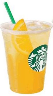 valencia Starbucks Coupon: Buy 1 Valencia Orange Refresher, Get 1 FREE!
