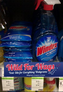 windex wags Windex as low as $0.75 at Walgreens!