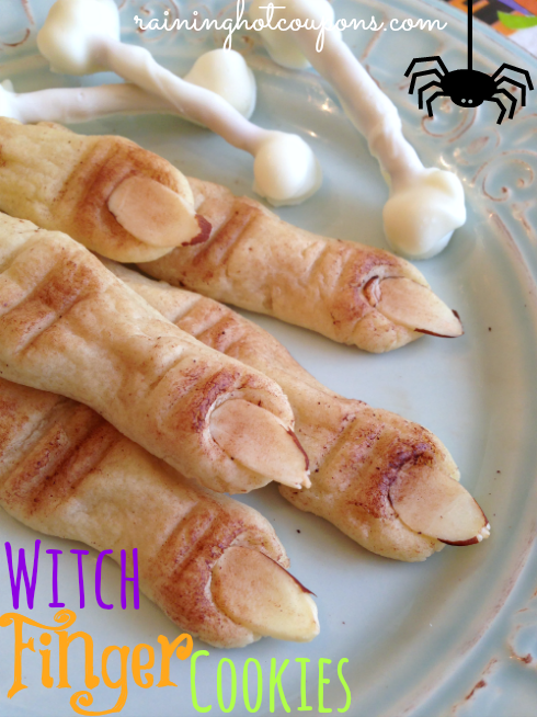 Halloween Witch Finger Cookies