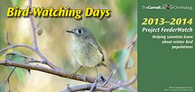Bird Watching Days Calendar1 FREE Bird Watching Days Calendar (2013 14)