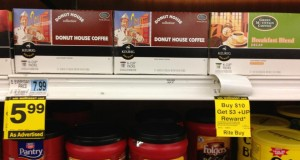 Rite Aid KCups coupon Donut House K Cups Only $2.99 each at Rite Aid!