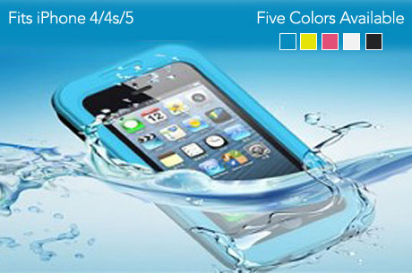Save 460x305A 76605 *HOT* No leak, Waterproof Defender Case for iPhone 4/4S and 5 for only $12.00 (Reg. $70.00)!