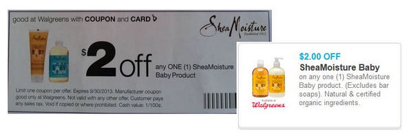 photo relating to Shea Moisture Printable Coupon named Walgreens: SheaMoisture Boy or girl Items Just $3.49 each and every (REG