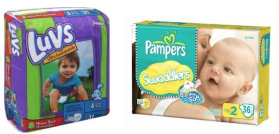 Luvs baby diaper coupons