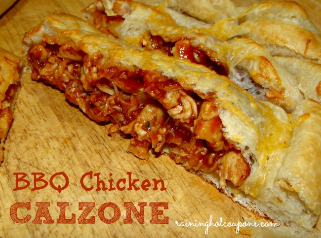 BBQ Calzone Pizza