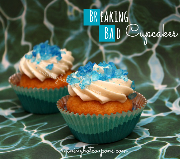 Breaking Bad Cupcakes  Love From The Oven