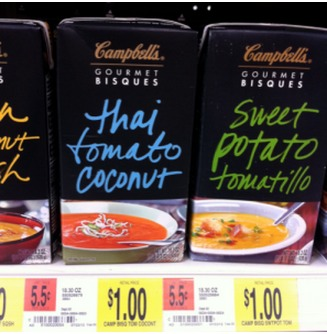 FREE Campbells Gourmet Bisques Soup with New Coupon!
