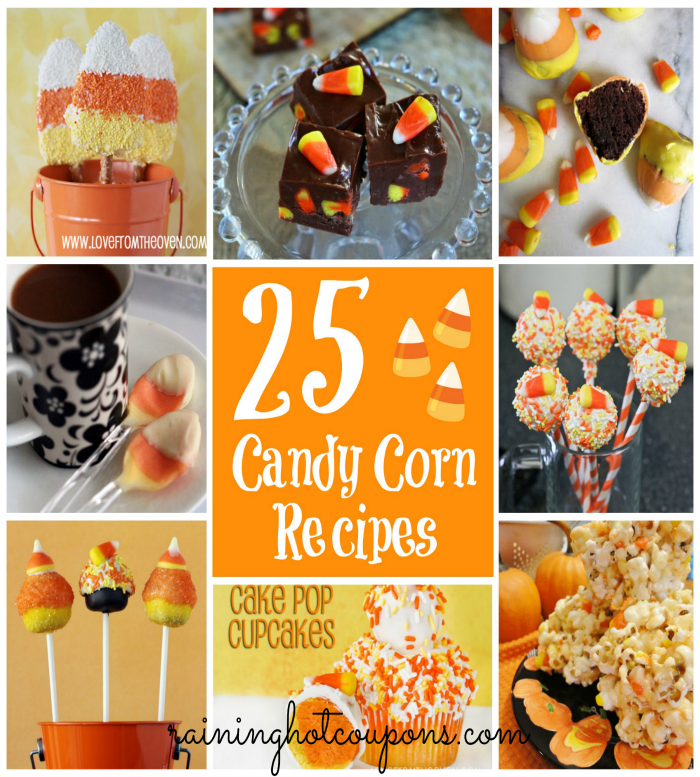 candy corn 25 Candy Corn Recipes for Halloween!