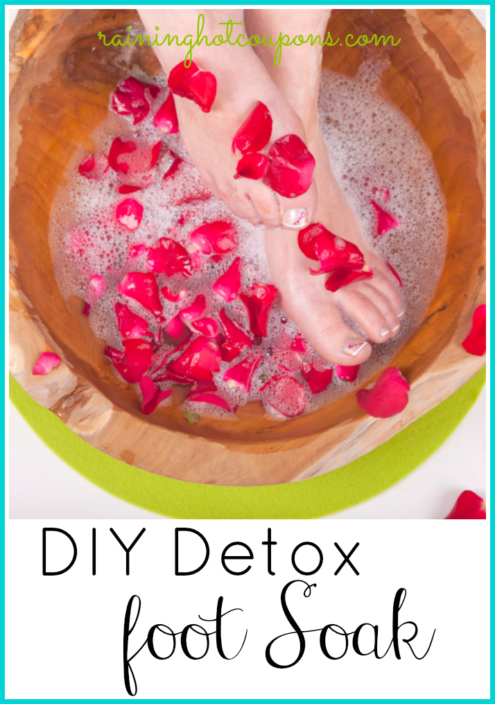 detox foot soak DIY Detox Foot Soak