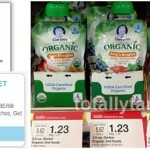 Target: Gerber Organic Baby Food Pouches Only $0.79