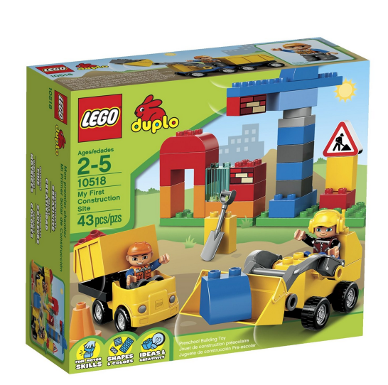 lego 2 Amazon: LEGO DUPLO My First Construction Site + 2 Figures Only $14.40
