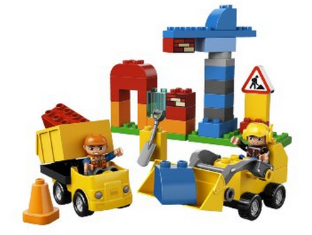 lego Amazon: LEGO DUPLO My First Construction Site + 2 Figures Only $14.40