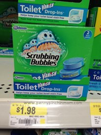 Scrubbing Bubbles Vanish Drop Ins Toilet Cleaner Only At Walmart