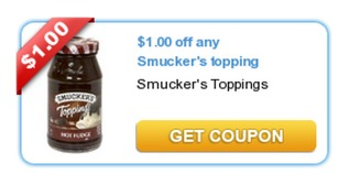 FREE Smuckers Ice Cream Toppings at Family Dollar!