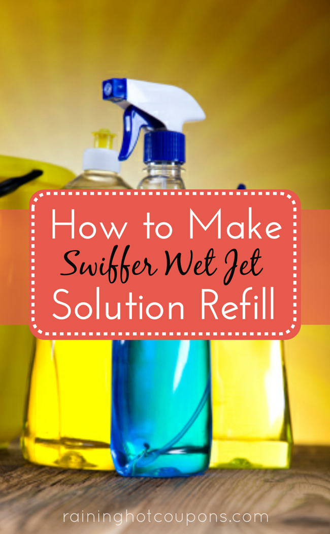 swiffer How To Make Swiffer Wet Jet Solution (Refill)