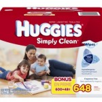 Amazon: *HOT* Huggies Wipes 648 Count ONLY $9.37 Shipped!