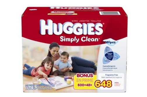 Amazon: *HOT* Huggies Wipes 648 Count ONLY $6.78 Shipped ($0.01 Per Wipe!)