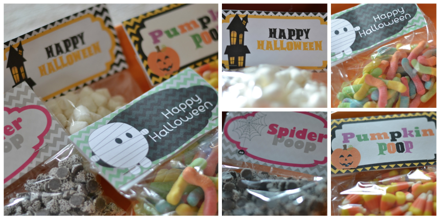 3 FREE Halloween Bag Toppers from Raining Hot Coupons! (Pumpkin Poop, Spider Poop, Happy Halloween and more!)