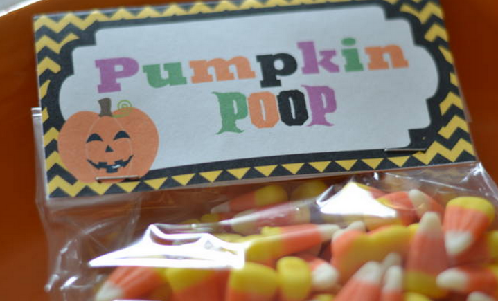 5 FREE Halloween Bag Toppers from Raining Hot Coupons! (Pumpkin Poop, Spider Poop, Happy Halloween and more!)