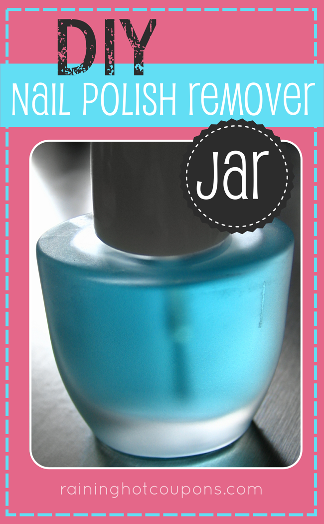 DIYnailPolishRemoverjar DIY Nail Polish Remover Jar