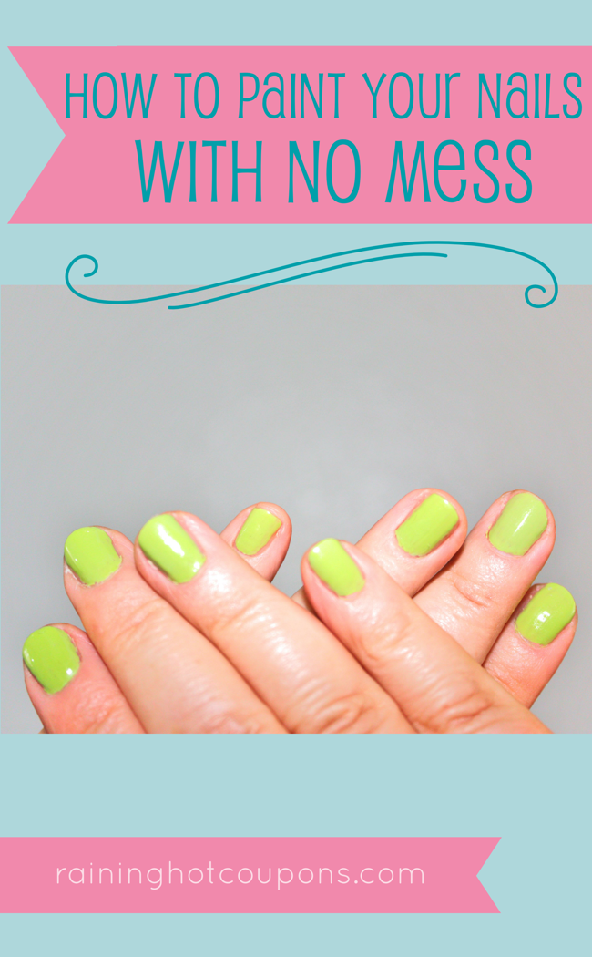 HowToPaintYourNailswithNoMess How To Paint Your Nails With No Mess
