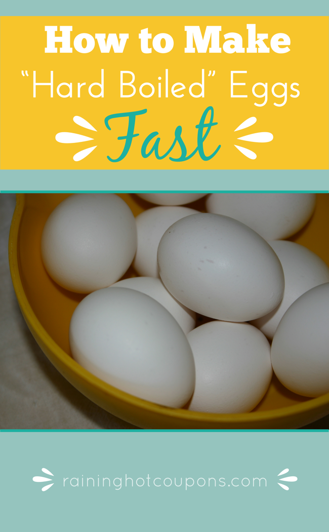 HowtoMakeHardBoiledEggsFast How To Make Hard Boiled Eggs Fast!