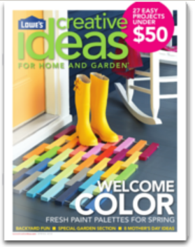 5 Free Lowe S Creative Ideas For Home And Garden Magazine