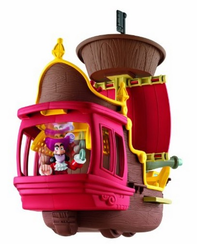 Amazon: Fisher Price Disneys Jake and The Never Land Pirates Hooks Jolly Roger Pirate Ship $16.19 (Reg. $24.99!)