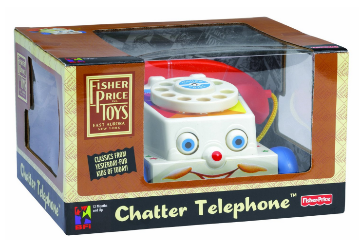 Classic Fisher Price Toys : Hot fisher price classic chatter phone only reg