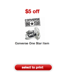 converse Target *HOT* Converse One Shoes Only $0.98!