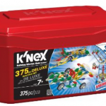 Amazon: K'NEX 375 Piece Deluxe Building Set Only $9.99 (Reg. $19.99)