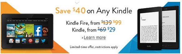*HOT* Amazon: Kindle Only $9 Shipped (Reg. $69)!!?