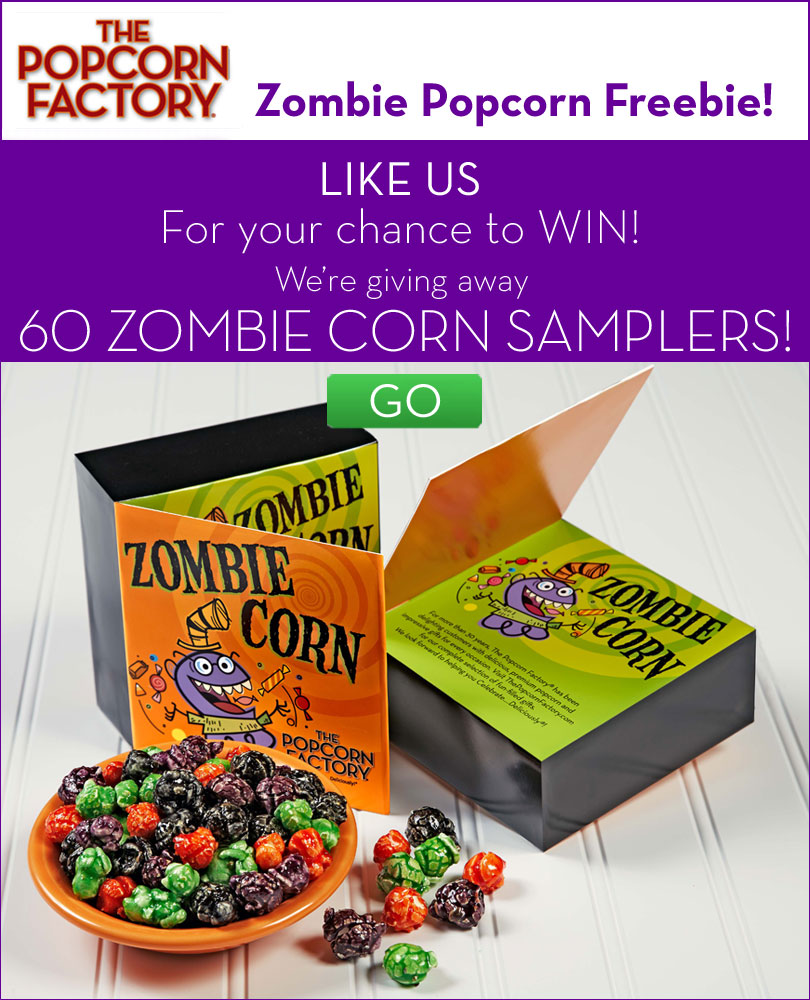 Enter to Win a Halloween Zombie PopCorn Sampler from ...