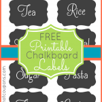 printable chalkboard labels 150x150 Printables