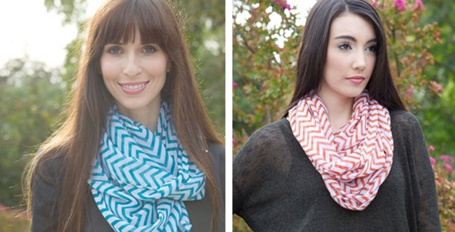 scarf 2 Chevron Scarves Only $4.99 (Reg. $22.00)!