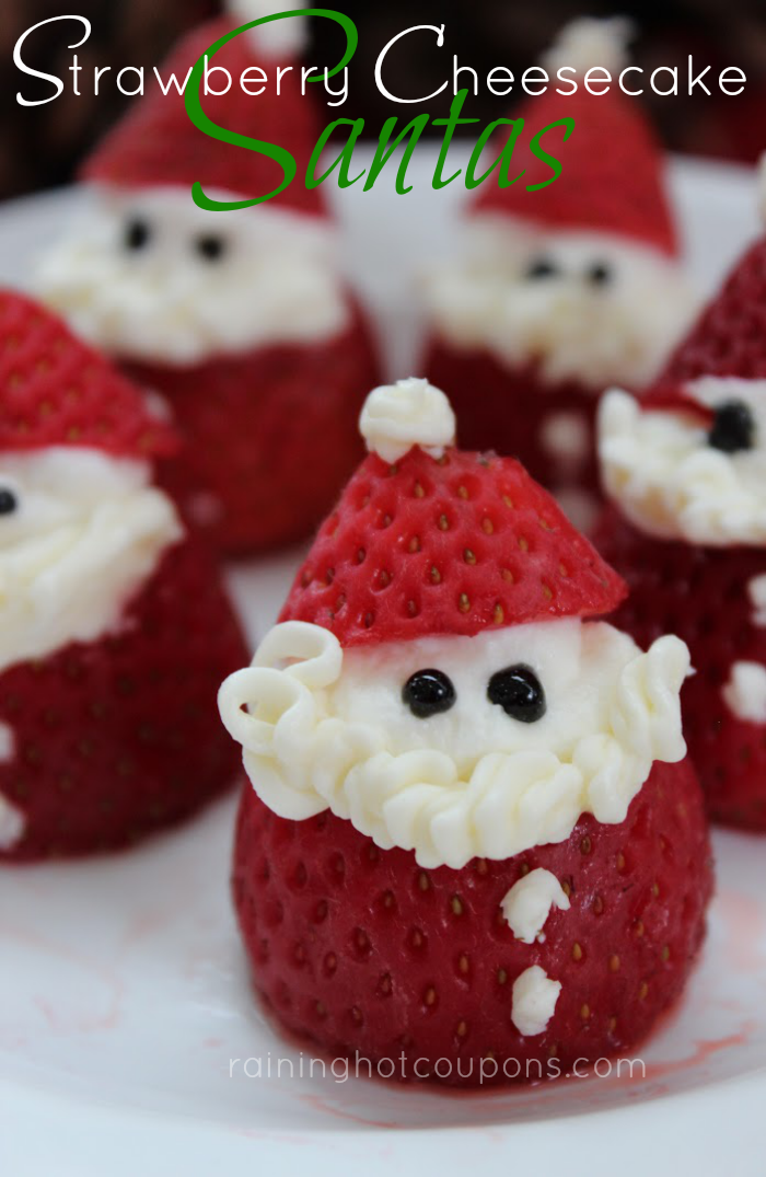 strawberry santas Strawberry Cheesecake Santas