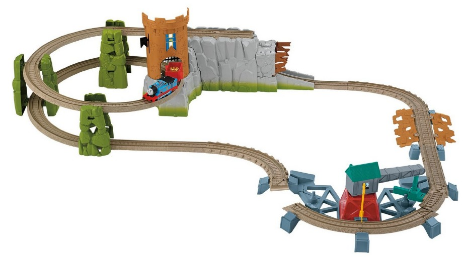 Amazon Thomas The Train Trackmaster Castle Quest Set Only