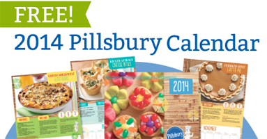 2014 Pillsbury Calendar1 FREE Pillsbury 2014 Calendar (11/5)