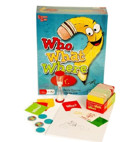 51aw0Qq7 SL  Who What Where Jr. Drawing Game Only $9.93 (Reg. $29.95)!
