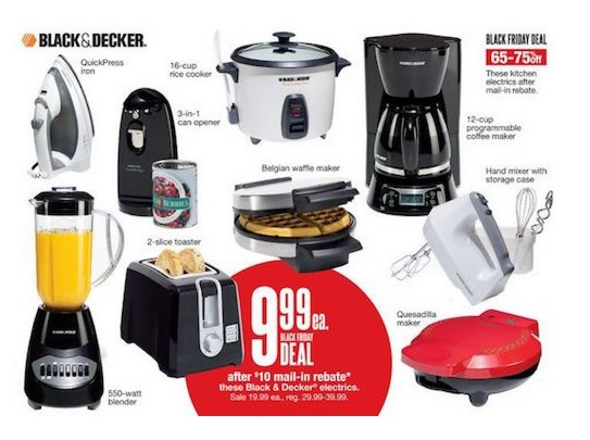 *HOT* Kohl's: Black & Decker Appliances $1.99 + FREE Shipping!