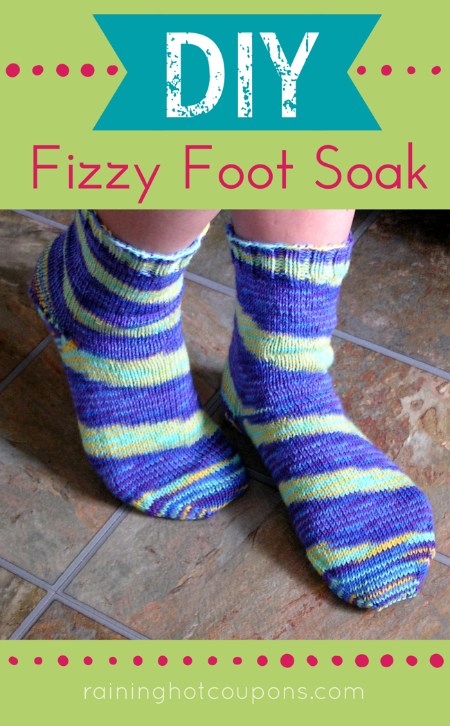 FOOT DIY Fizzy Foot Soak