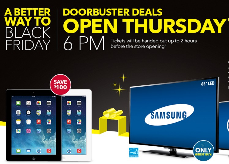 Best Buy Black Friday Ad 2013