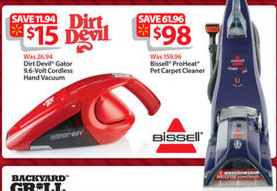 Bissell ProHeat Pet Carpet Cleaner $98