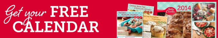 FREE 2014 Betty Crocker Calendar (First 10,000) Betty Crocker Members!