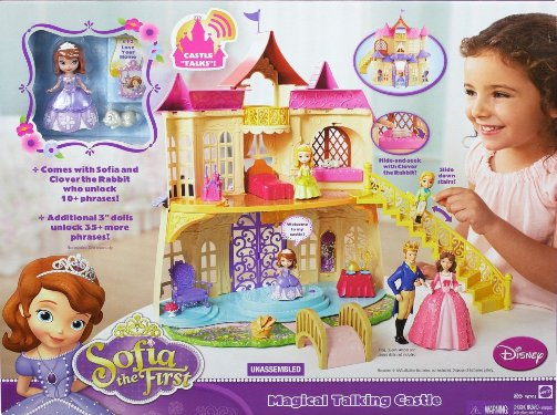 castle Amazon: Disney Sofia The First New Magical Talking Castle $29.99 (Reg. $60!)