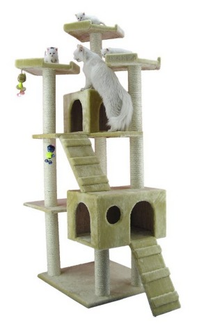 *HOT* Large Cat tree Furniture Condo 75 Tall Only $82.99 + FREE Shipping (Reg. $175!)